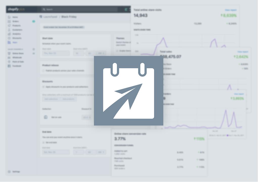 Launchpad - Shopify Plus Dashboard